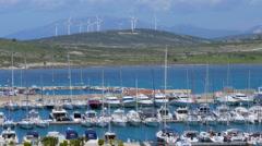 Alacati Marina, Cesme, Izmir, Turkey, Stock Footage