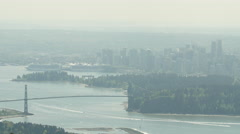 Vancouver - Lower Mainland - Pan - 30P - ProRes 4:2:2 10 Bit - UHD 4K Stock Footage