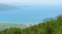 Gokova landscape view, akyaka, turkey Stock Footage
