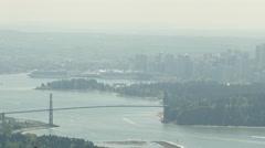 Vancouver - Lower Mainland - Pan - 24P - ProRes 4:2:2 10 Bit - UHD 4K Stock Footage