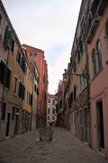 Venice Apartments in the day Stock Photos