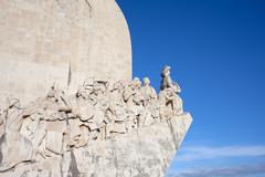Monument to the Discoveries in Lisbon - stock photo