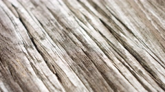 Very old wood table - stock footage