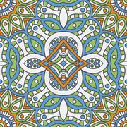 Seamless pattern. Vintage decorative elements Stock Illustration