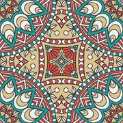 Stock Illustration of Seamless pattern. Vintage decorative elements