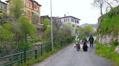 Stock Video Footage of SAFRANBOLU, TURKEY: Traditional Ottoman Anatolian Village