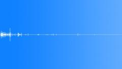 Dust impact Sound Effect