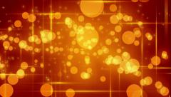 Gillitering Dots and Stars Background Stock Footage