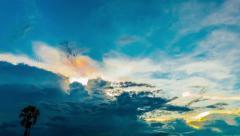 Twilight Sky Stock Footage