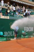 Tennis Clay Court Watering Stock Photos