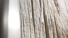 Vintage decorative wood motion background 4k Stock Footage