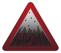 Fear Signpost - stock illustration