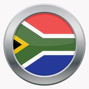 South Africa Icon - stock illustration