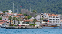 Stock Video Footage of MARMARIS, TURKEY: Daily life Summer Travel Destination