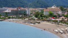Stock Video Footage of MARMARIS, TURKEY: Daily life Summer Travel Destination