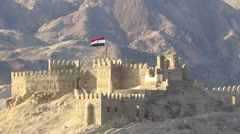 Fortress in Egypt Stock Footage