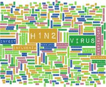 H1N2 - stock illustration