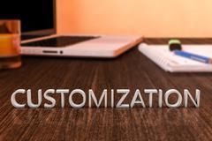 Customization Stock Illustration