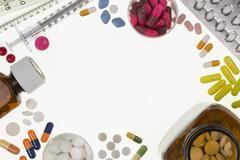 Prescription Drugs - Medical Treatment Stock Photos
