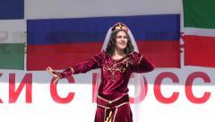 Armenian folk dance Stock Footage