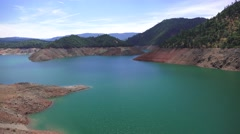 California drought, Lake Oroville Stock Footage