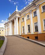 the palace - stock photo