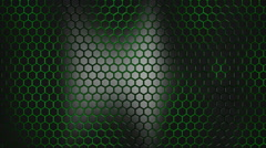 3d alive texture of a honeycomb - stock footage