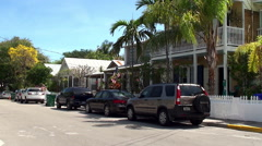 Types of Key West Old Town. Stock Footage