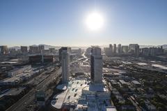 Las Vegas Heat - stock photo