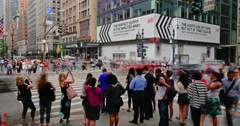 Manhattan Street and Intersection Timelapse - stock footage