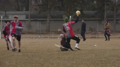 Quidditch - Goal Scored Stock Footage
