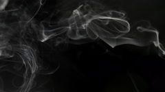 Smoke slow background Stock Footage