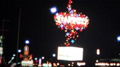 (8mm Vintage) 1966 Stardust Hotel Las Vegas USA - stock footage