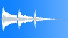 Acoustic Guitar Triple Sting F Harmonics Slow Sound Effect