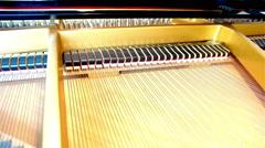 Inside the grand piano Arkistovideo
