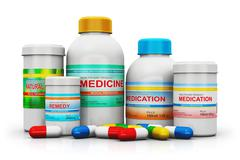 Medical supplies Stock Illustration