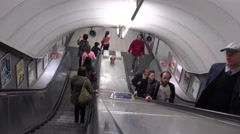 ULTRA HD 4K real time shot,The London Underground Stock Footage