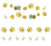 Yellow daffodils design elements - stock photo