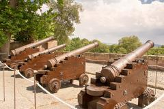 Cannon of Alhambra - stock photo