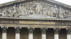National Assembly, Paris, France Stock Footage
