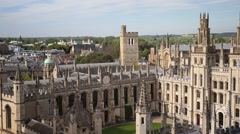 Oxford University - stock footage
