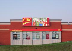 Stock Photo of CIBC Banking Centre