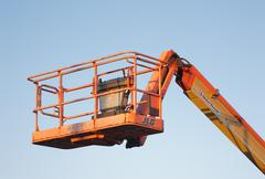 United Rentals/JLG Work Platform Stock Photos