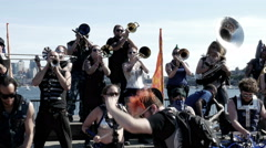 Marching Band, Band, Concert, Performance, Musicians Stock Footage