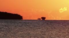 Florida Keys Sunset Stock Footage