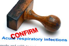 Respiratory infections confirm - stock photo