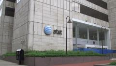 AT&T Building 1 - stock footage