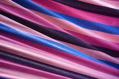 Striped textile texture Stock Photos