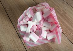 marshmallows - sweet confectionery product - stock photo