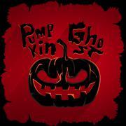 Pumpkin ghost Stock Illustration